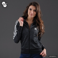 Mikina Adidas (černá barva, Queens.cz)