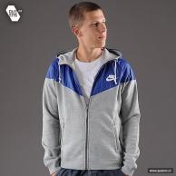 Pánské mikiny značkové Nike RU Overlay Fleece WR