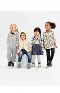 Módní kolekce dětského oblečení Next - dívky