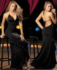 Luxusní plesové šaty dlouhé výprodej