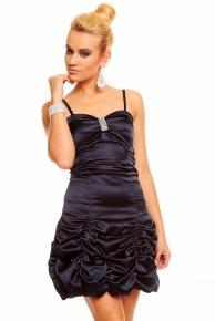Fialové večerní šaty