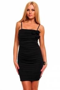 Černé krátké společenské šaty výprodej