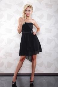 Výprodej - krátké šaty společenské černé