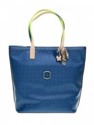 Dámská značková kabelka modrá