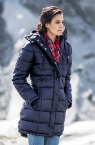 Dlouhá zimní bunda