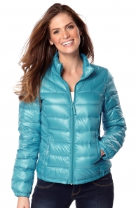 Zimní bunda péřová levně