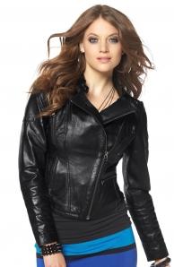 Výprodej zimní bunda kožená