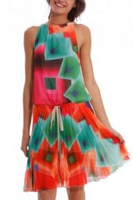 Barevné šaty Desigual 41V2124_1010_ss14