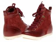 Kvalitní dámské boty na jaro Timberland Ek ballard hi_8703R_aw
