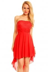 Červené společenské šaty do 1000 Kč