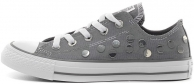 Novinka - Converse  boty Chuck Taylor All Star Dots (šedé)