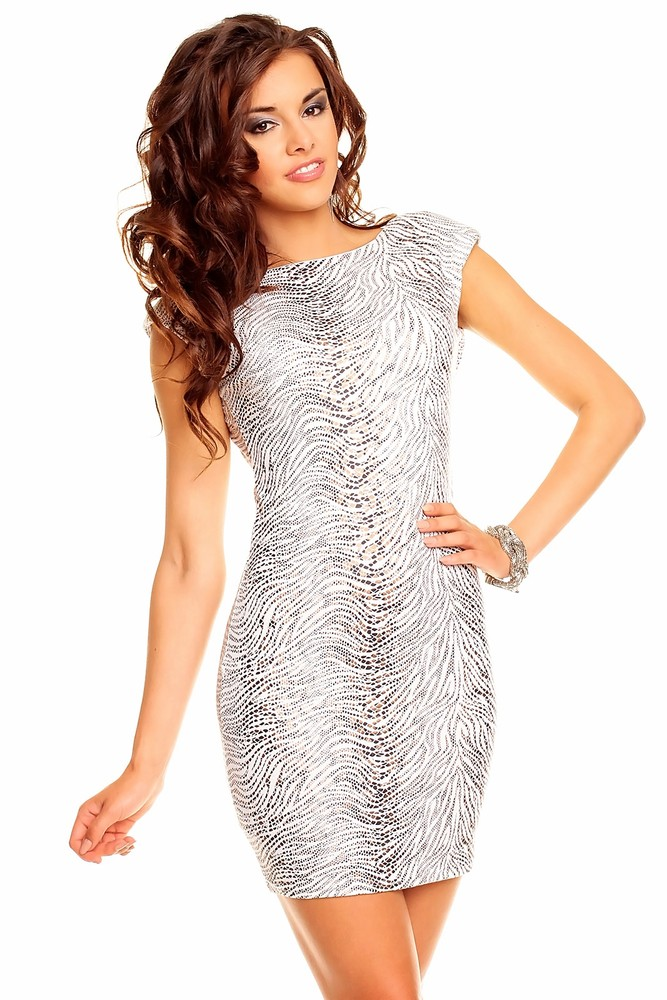 4bee10b82fd1 Levné krátké večerní společenské šaty černé Večerní společenské šaty bílé  levně ...