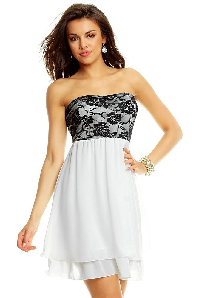 Levné společenské šaty – módní krátké či dlouhé večerní šaty se ... d621fe6844