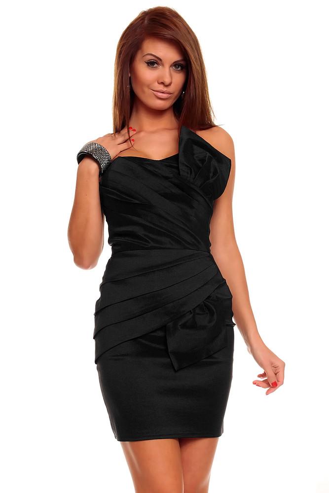 139d894191cf Černé krátké společenské šaty výprodej Černé plesové šaty krátké výprodej  ...