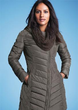VÝPRODEJ: Dámské zimní kabáty se slevou v nabídce Halens