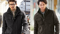 VÝPRODEJ: Pánské zimní bundy kožené, péřové, džínové i textilní v akci