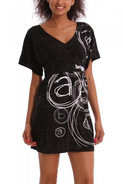 8f1446e6b6c Dámské šaty Desigual 40V2153 2000 ss14 (výprodej) Barevné šaty Desigual  41V2124 1010 ss14 Černé letní šaty Desigual 42V2125 2000 ss14 ...