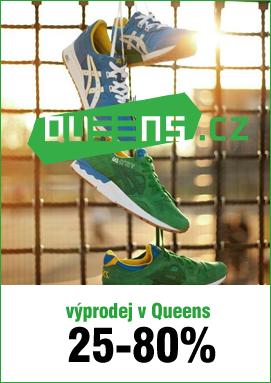 TIP: Skateshop Queens výprodej – oblečení, boty, čepice a další se slevou až 80%