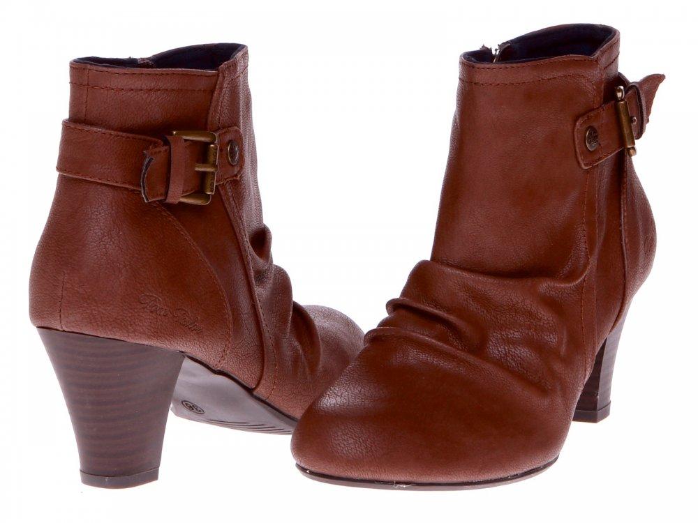 Kotníčkové boty na podzim jaro Tom Tailor 4391203 58 aw ... 065f8057a7