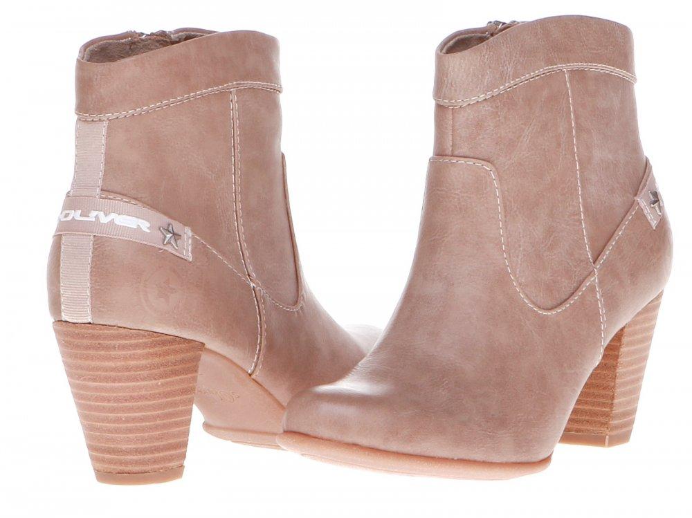 Kotníčkové boty na podzim jaro Tom Tailor 4391203 58 aw Kotníčkové boty  dámské s. 53a5965620