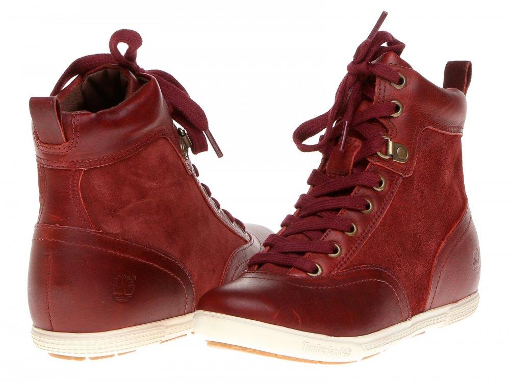 ... Kvalitní dámské boty na jaro Timberland Ek ballard hi 8703R aw 0bd3d34ad4